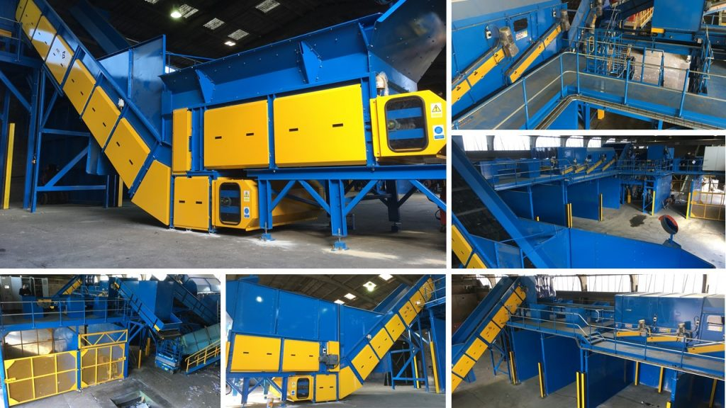 Materials recycling facility designed and manufactured by ken mills engineering