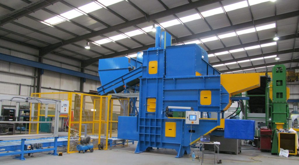big bag baler for RDF