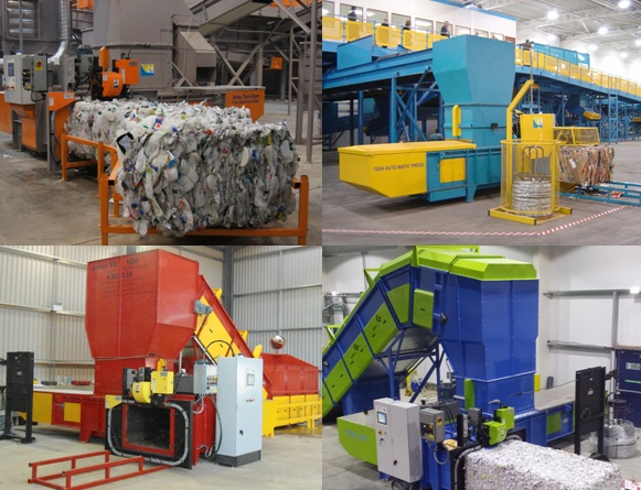 materials recycling facility designed and built by KME - MRF
