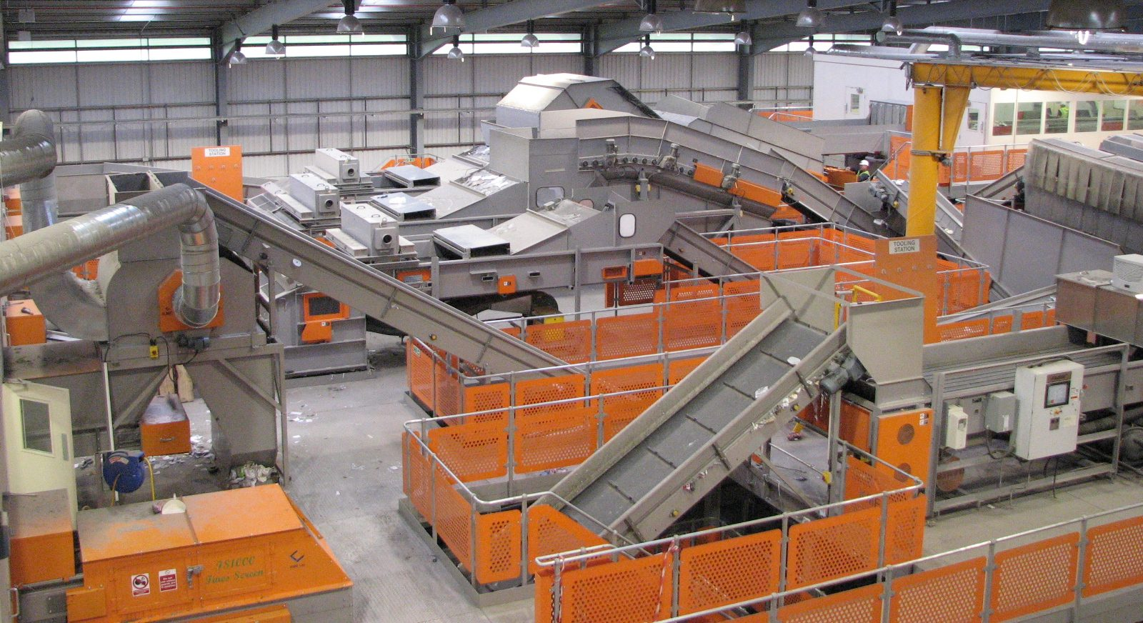 Material recycling facility - MRF